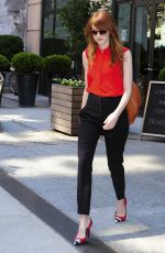 EMMA STONE Out and About in New York 1707