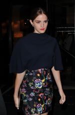 EMMA WATSON at Dior After Party in Paris