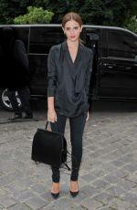 EMMA WATSON at Giambattista Valli Fashion Show in Paris