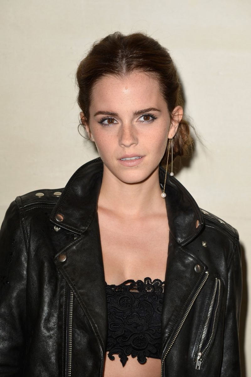 EMMA WATSON at Valentino Fashion Show in Paris