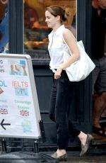 EMMA WATSON Out and About in London 2907