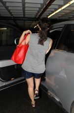 EMMY ROSSUM in Shorts Out in Beverly Hills