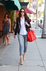 EMMY ROSSUM Out and About in Beverly Hills