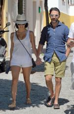 EVA LONGORIA and Jose Antonio Baston Out and About in Marbella