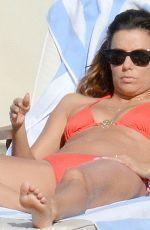 EVA LONGORIA in Bikini on Vacation in Capri
