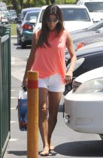 EVA LONGORIA in Shorts Out and About in Los Angeles