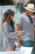 EVA LONGORIA Out and About in Marbella