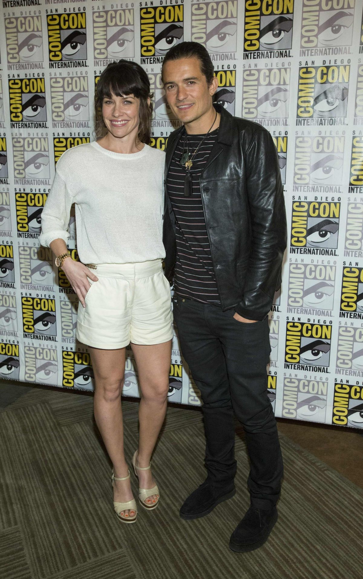EVANGELINE LILLY at Legendary Pictures Panel at Comic-con