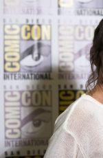 EVANGELINE LILLY at Marvel Studios Panel at Comic-con in San Diego