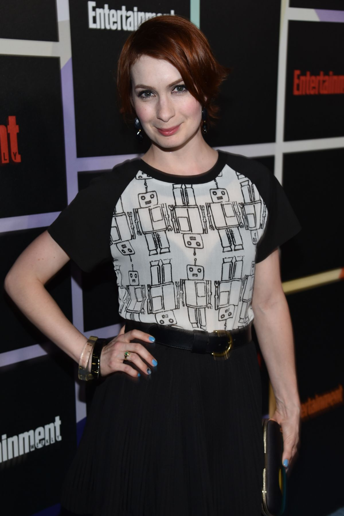 FELICIA DAY at Entertainment Weekly's Comic-con Celebration