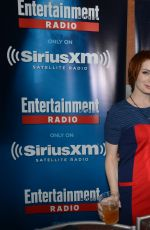 FELICIA DAY at SiriusXM Broadcasts from Comic-con
