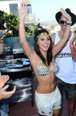 FRANCIA RAISA in Bikini at hHer Birthday Party in Malibu