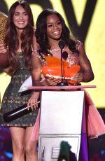 GABBY DOUGLAS at 2014 Kid's Choice Sports Awards in Los Angeles