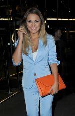GEMMA MERA Leaving Australasia Restaurant in Manchester