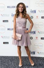 GEMMA OATEN at Million Dollar Arm Premiere in Lonodon