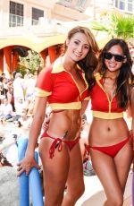 GENEVIEVE MORTON at Tao Beach Venetian Hotel and Casino Party in Las Vegas