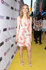 GILLIAN JACOBS at 32nd Outfest LGBT Film Festival in Los Angeles