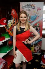 GILLIAN JACOBS at Nintendo Lounge at Comic-con 2014 in San Diego