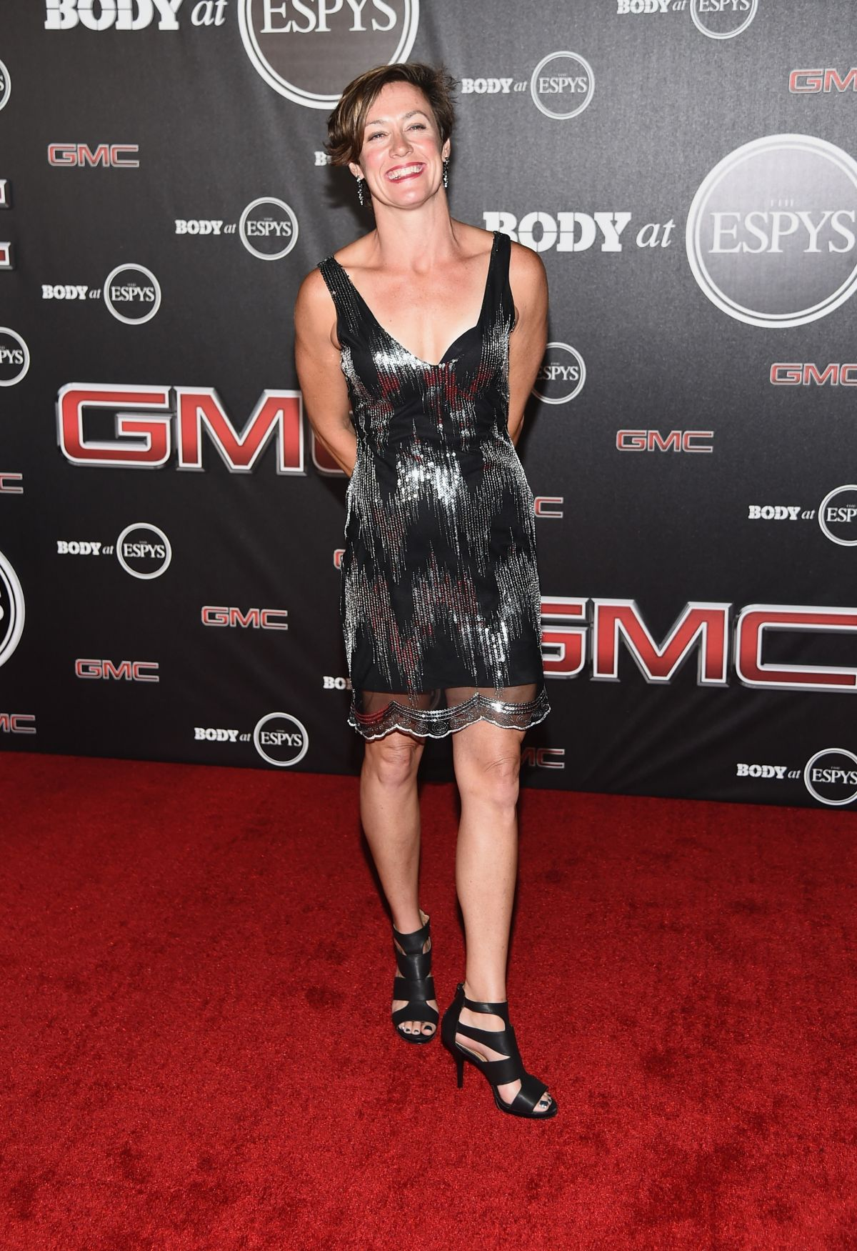 GINGER HUBER at ESPN Presents Body at ESPYS