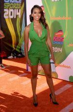 GLORIA GOVAN at 2014 Kid's Choice Sports Awards in Los Angeles