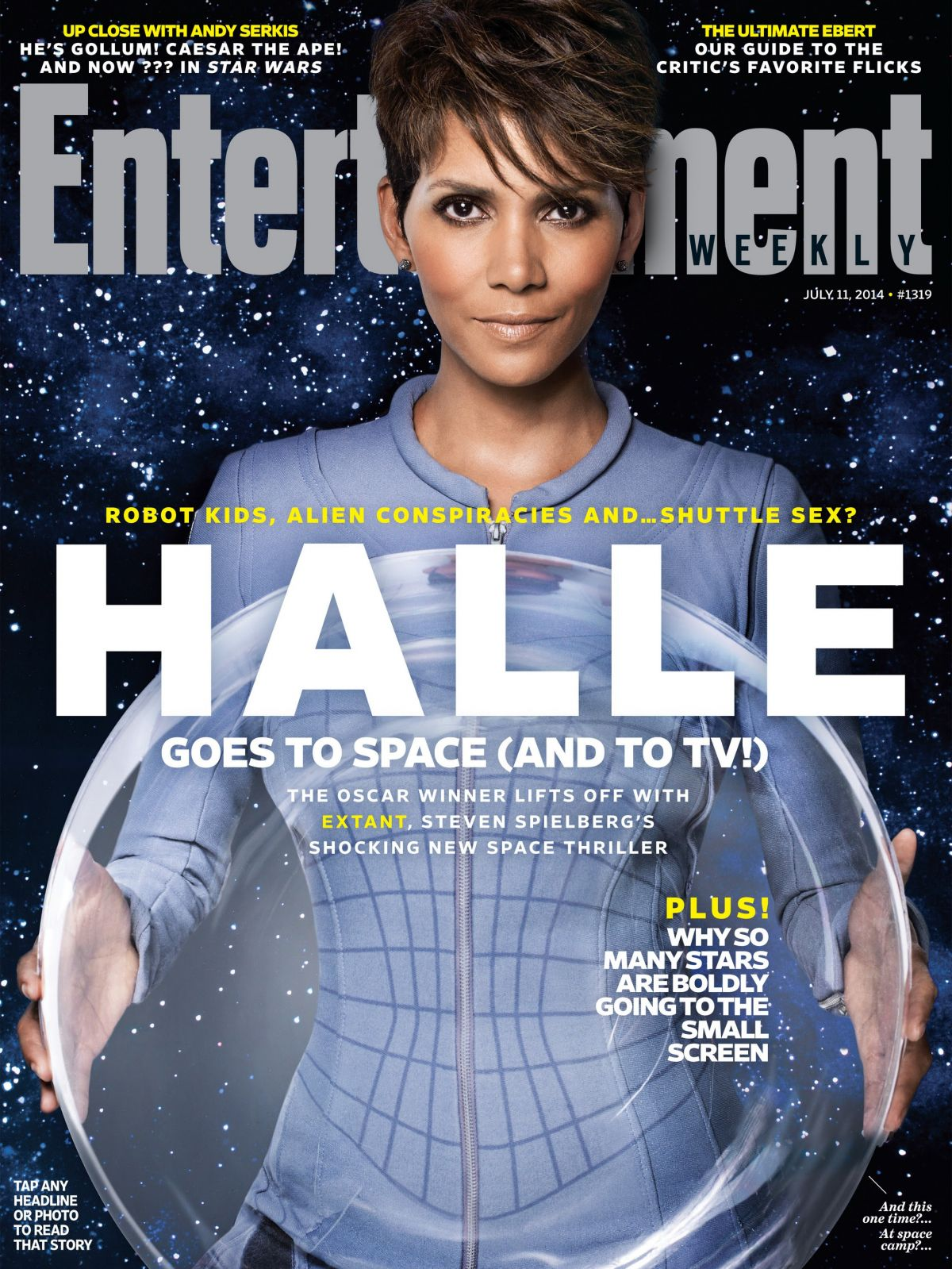 halle berry in entertainment weekly july 11th 2014 issue hawtcelebs. Black Bedroom Furniture Sets. Home Design Ideas