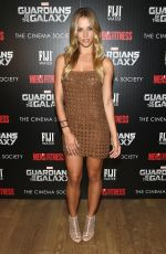 HANNAH FERGUSON at Guardians of the Galaxy Screening in New York