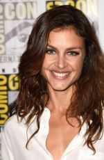 HANNAH WARE at Hitman: Agent 47 Panel at Coic-con in San Diego