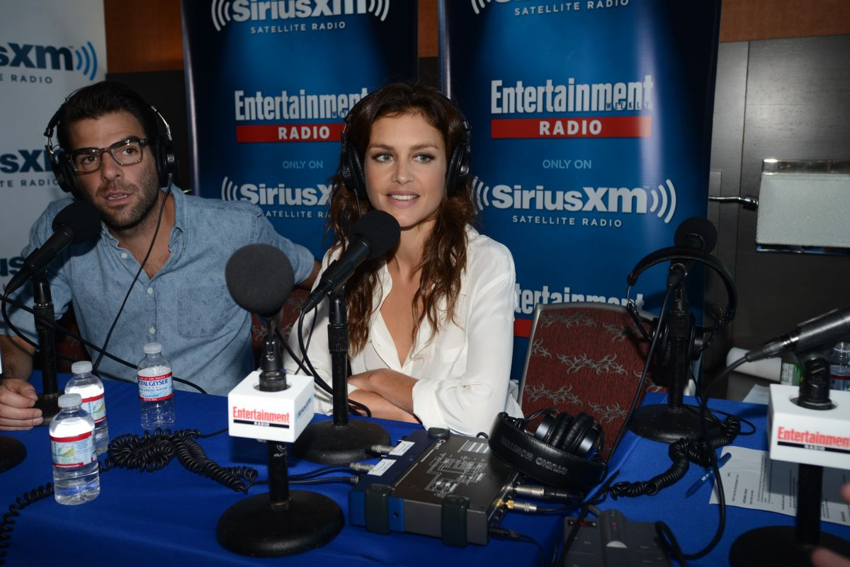 HANNAH WARE at SiriusXM Broadcasts from Comic-con