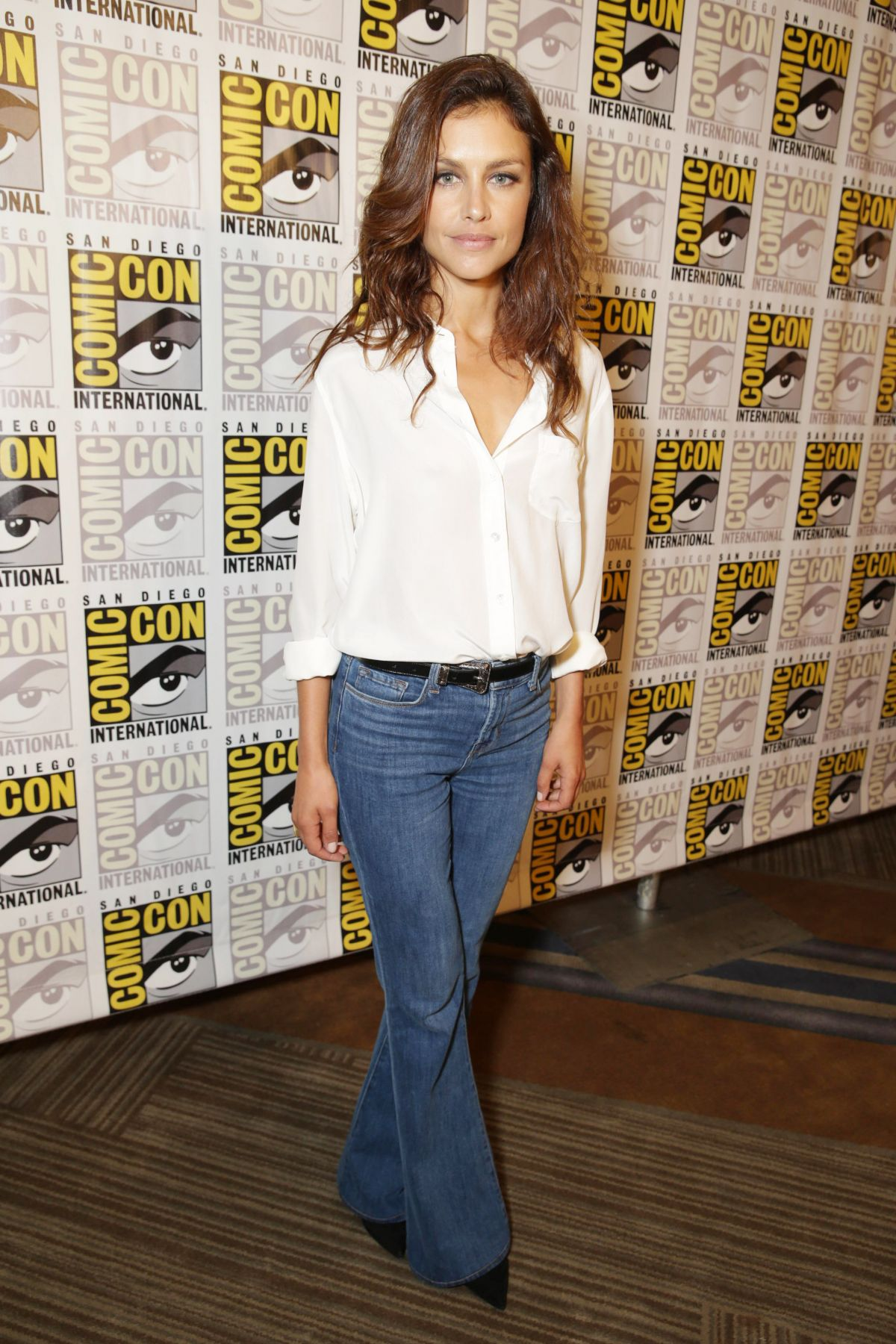 HANNAH WARE at Twentieth Century Fox Panel at Comic-con in San Diego