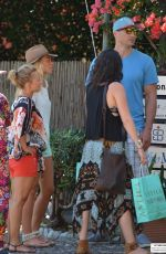 HAYDEN PANETTIERE Out and About in Portofino