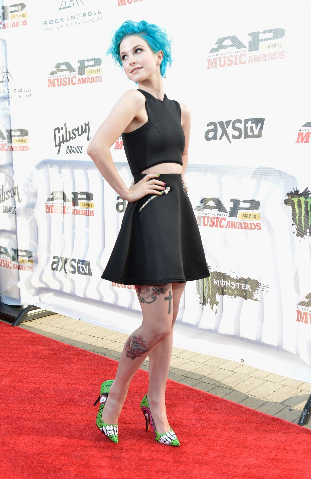 HAYLEY WILLIAMS at Alternative Press Music Awards