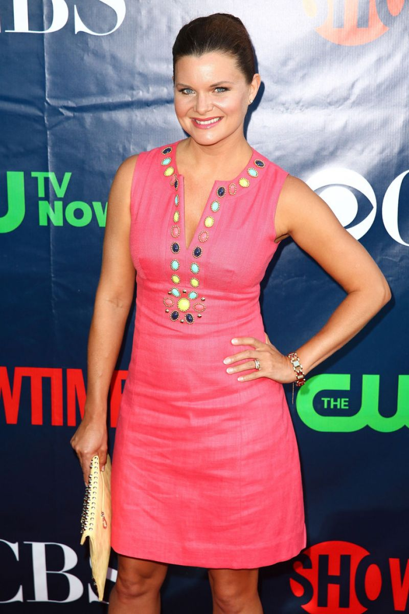 HEATHER TOM at CBS 2014 TCA Summer Tour
