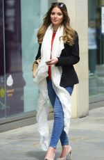 HELEN FLANAGAN out and About in Manchester