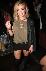 HILARY DUFF at Chasing the Sun Single Release party in New York