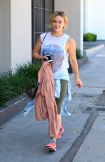 HILARY DUFF Leaves a Gym in West Hollywood 3007