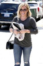 HILARY DUFF Out and About in Los Angeles 1707