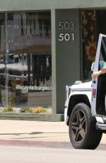 HILARY DUFF Out and About in West Hollywood 2107