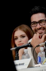 HOLLAND RODEN at Teen Wolf Presentation at Comic-con 2014 in San Diego