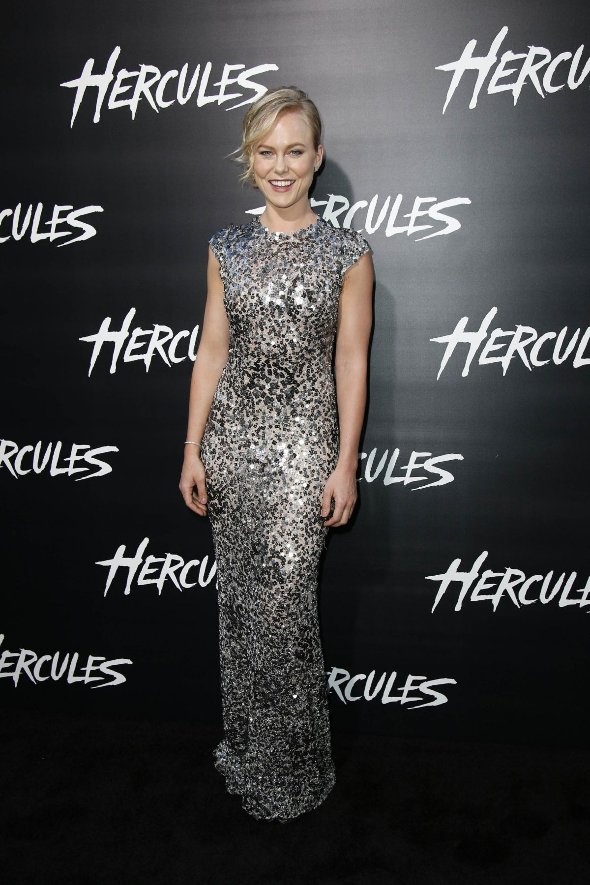 INGRID BOLSO BERDAL at Hercules Premiere in Los Angeles