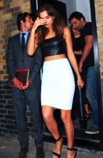 IRINA SHAYK at Chiltern Firehouse in London