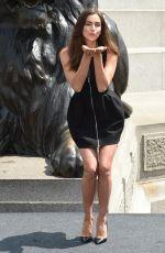 IRINA SHAYK at Hercules Photocall in London