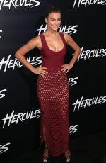 IRINA SHAYK at Hercules Premiere in Los Angeles