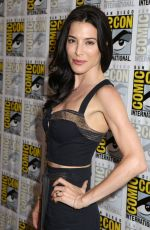 JAIME MURRAY at Defiance Panel at Comic-con in San Diego