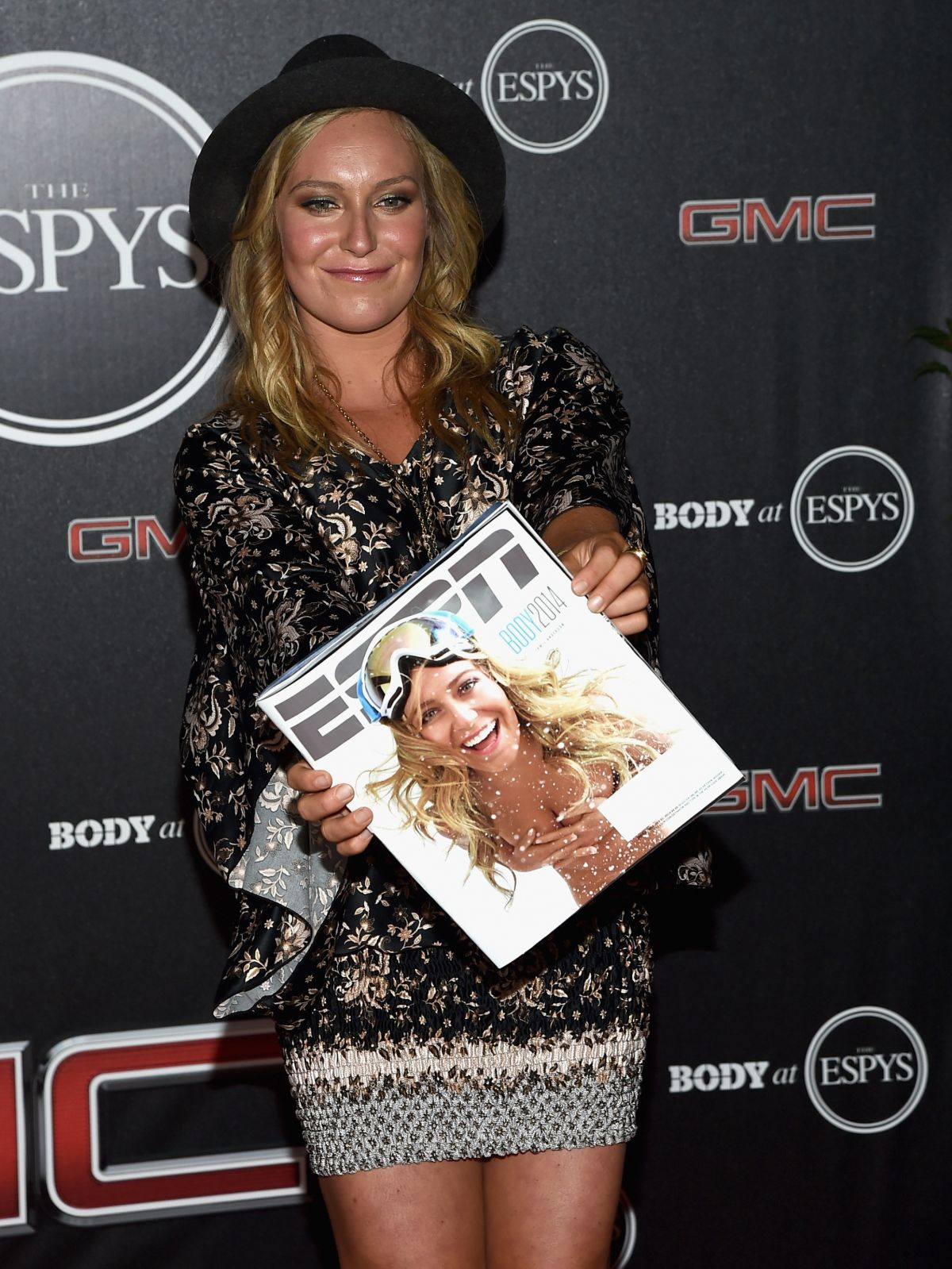 JAMIE ANDERSON at ESPN Presents Body at ESPYS