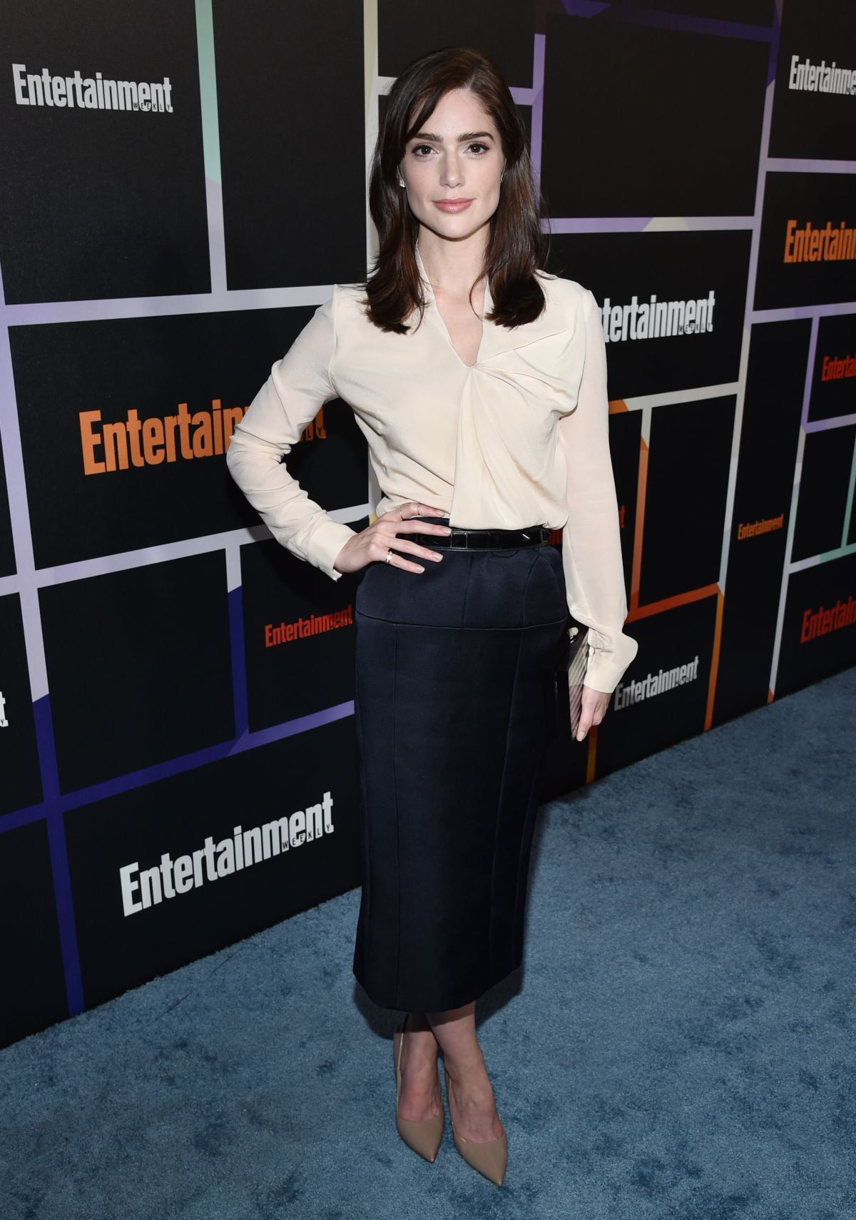JANET MONTGOMERY at Entertainment Weekly's Comic-con Celebration