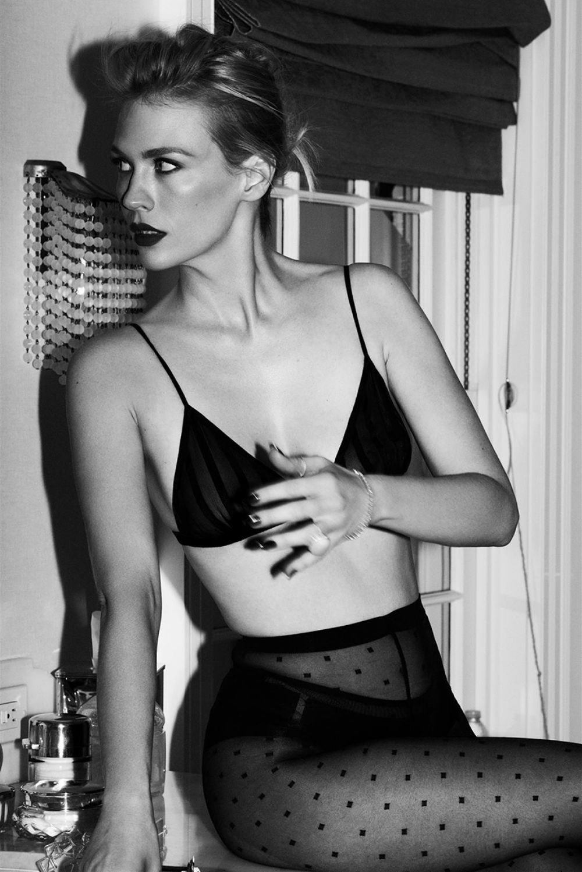 January Jones Ben Hassett Photoshoot For Violet Grey