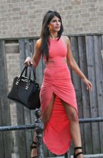 JASMIN WALIA in Tight Dress Out in Chelmsford