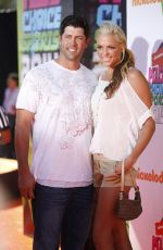 JENNIE FINCH 2014 Kid's Choice Sports Awards in Los Angeles