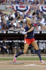 JENNIE FINCH at MLB All-star Legends and Celebrity Softball Game