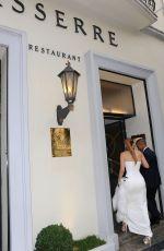 JENNIFER LOPEZ Arrives at Le Restaurant Lasserre in Paris